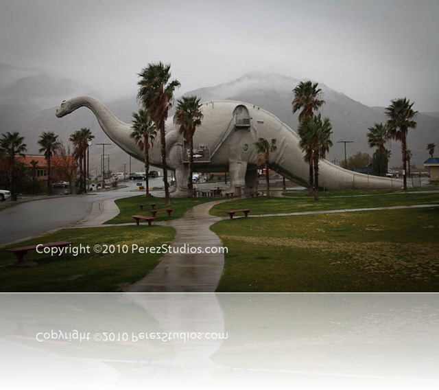 The Dinosaurs In Cabazon, CA