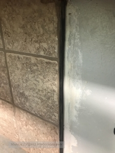 Metal Frame Around Tile