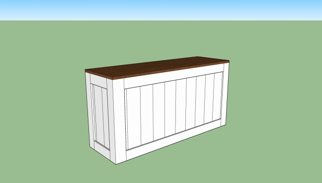 DIY - Shoebox in Sketchup